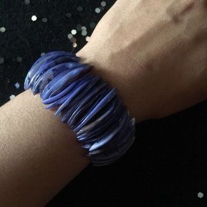 Jewelry - FASHION blue shell bracelet